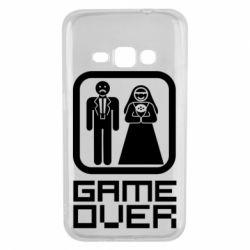Чехол для Samsung J1 2016 Game Over