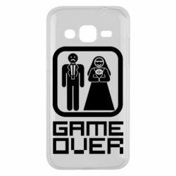 Чехол для Samsung J2 2015 Game Over