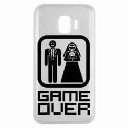 Чехол для Samsung J2 2018 Game Over