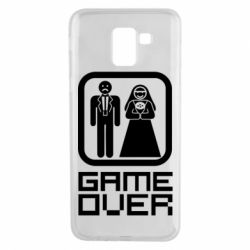 Чехол для Samsung J6 Game Over