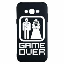 Чехол для Samsung J7 2015 Game Over