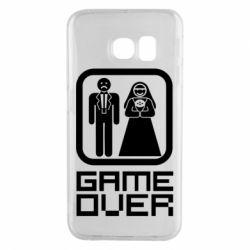 Чехол для Samsung S6 EDGE Game Over