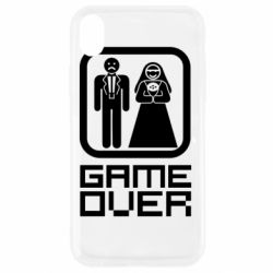 Чехол для iPhone XR Game Over