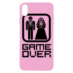 Чехол для iPhone Xs Max Game Over