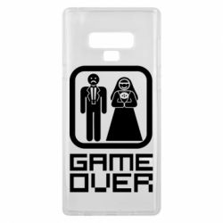 Чехол для Samsung Note 9 Game Over