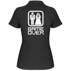 Женская футболка поло Game Over - FatLine