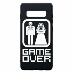 Чехол для Samsung S10+ Game Over