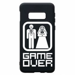 Чехол для Samsung S10e Game Over