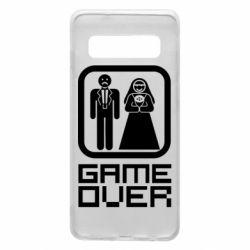 Чехол для Samsung S10 Game Over