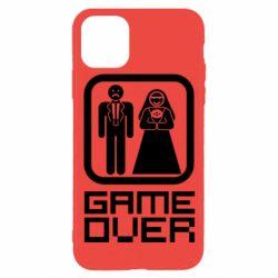 Чехол для iPhone 11 Pro Game Over
