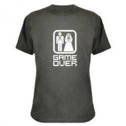Камуфляжная футболка Game Over - FatLine