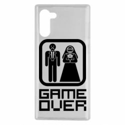 Чехол для Samsung Note 10 Game Over