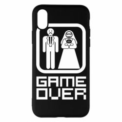 Чехол для iPhone X/Xs Game Over