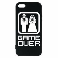 Чехол для iPhone5/5S/SE Game Over
