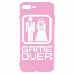 Чехол для iPhone 8 Plus Game Over
