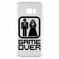 Чехол для Samsung S7 EDGE Game Over