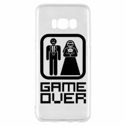 Чехол для Samsung S8 Game Over
