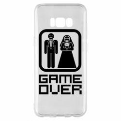 Чехол для Samsung S8+ Game Over