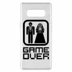 Чехол для Samsung Note 8 Game Over