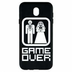 Чехол для Samsung J7 2017 Game Over