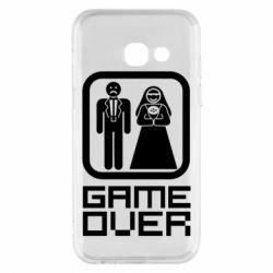 Чехол для Samsung A3 2017 Game Over
