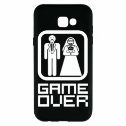 Чехол для Samsung A7 2017 Game Over
