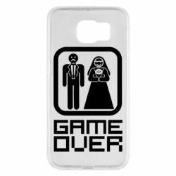 Чехол для Samsung S6 Game Over