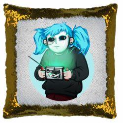 Подушка-хамелеон Game Sally Face