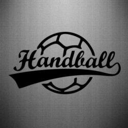 Наклейка Гандбол Лого - FatLine