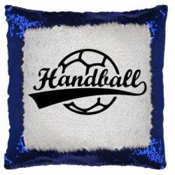 Подушка-хамелеон Гандбол Лого