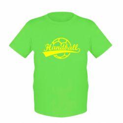 Детская футболка Гандбол Лого - FatLine