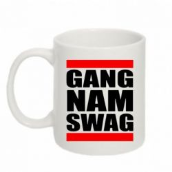 Кружка 320ml GANG NAM SWAG - FatLine