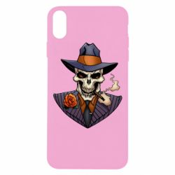 Чехол для iPhone Xs Max Gangsta Skull