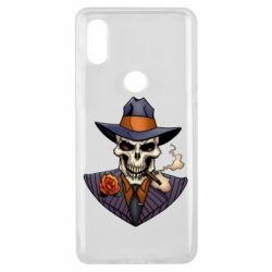 Чехол для Xiaomi Mi Mix 3 Gangsta Skull