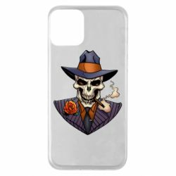 Чехол для iPhone 11 Gangsta Skull