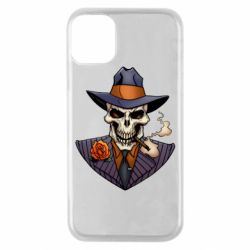 Чехол для iPhone 11 Pro Gangsta Skull
