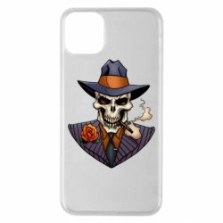 Чехол для iPhone 11 Pro Max Gangsta Skull