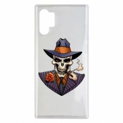 Чехол для Samsung Note 10 Plus Gangsta Skull