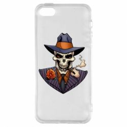 Чехол для iPhone5/5S/SE Gangsta Skull