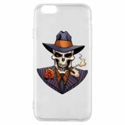 Чехол для iPhone 6/6S Gangsta Skull