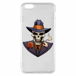 Чехол для iPhone 6 Plus/6S Plus Gangsta Skull