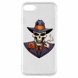 Чехол для iPhone 7 Gangsta Skull