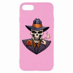 Чехол для iPhone 8 Gangsta Skull