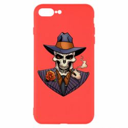 Чехол для iPhone 8 Plus Gangsta Skull