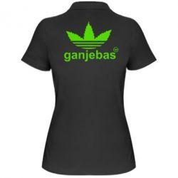 Женская футболка поло Ganjubas - FatLine