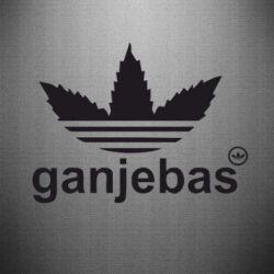 Наклейка Ganjubas
