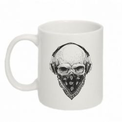 Кружка 320ml Gansta Skull - FatLine