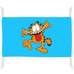 Флаг Гарфилд кривляка