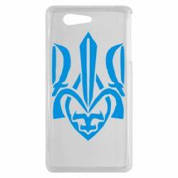 Чехол для Sony Xperia Z3 mini Гарний герб України - FatLine