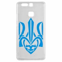 Чехол для Huawei P9 Гарний герб України - FatLine
